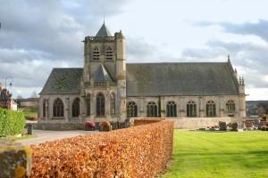Eglise vue du Nord-Ouest