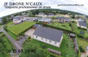 Carte de visite JF Drone N'Caux